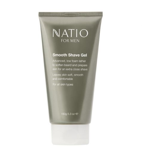 Natio Men Shave Gel 150g