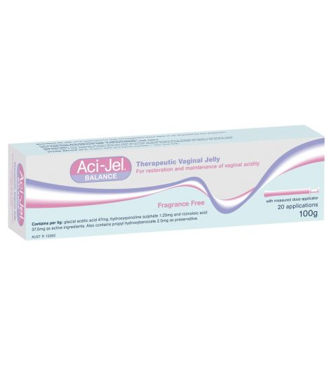 Aci-jel Balance Therapeutic Vaginal Jelly 100g