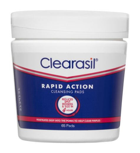 Clearasil Ultra Rapid Action Pads 65 Pack