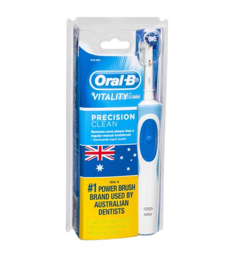 Oral B Toothbrush Power Vitality Precision Clean + 2 Refills