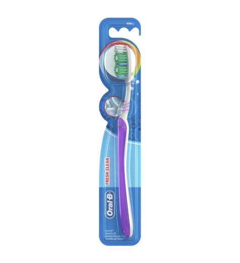 Oral B All Rounder Fresh Clean Medium Toothbrush