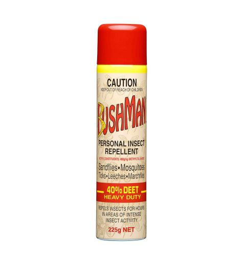 Bushman Personal Insect Repellent 40% Deet 225g Spray