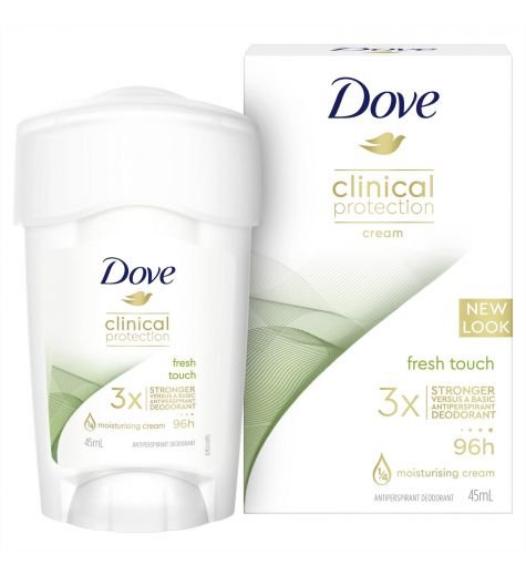 Dove Clinical Protection Fresh Touch Anti Perspirant Deodorant 45ml