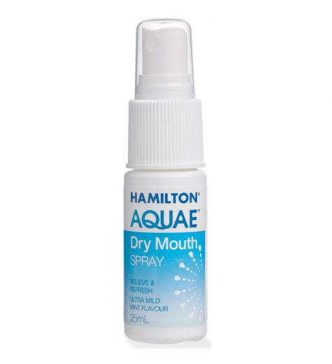 Hamiltons Aquae Dry Mouth Spray 25ml