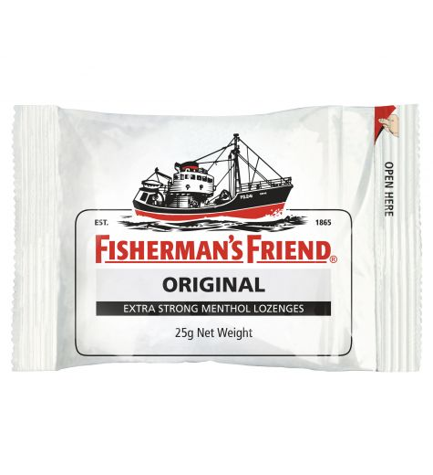 Fisherman's Friend Original Extra Strong Menthol 25g