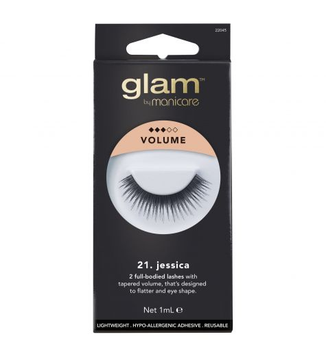 Glam By Manicare 21. Jessica Volume False Lashes