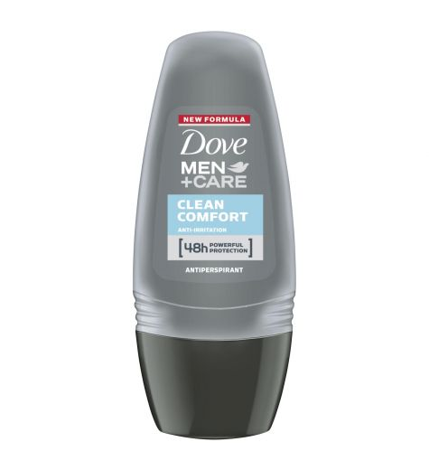 Dove Men Clean Comfort Anti Perspirant Deodorant Roll On 50ml
