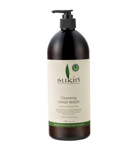 Sukin Cleansing Hand Wash (Pump) 1L