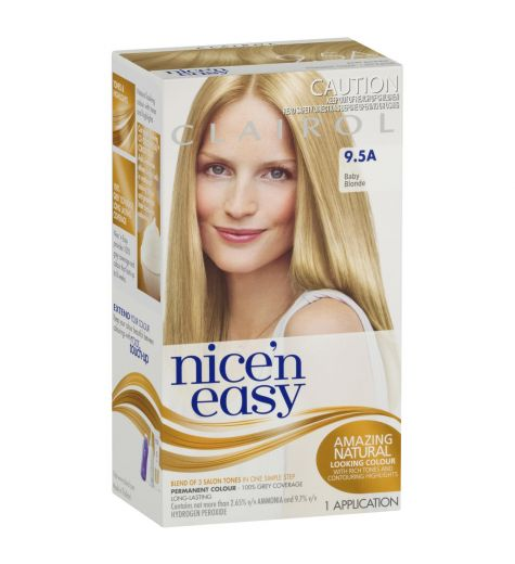 Clairol Nice 'N Easy 9.5A Natural Baby Blonde