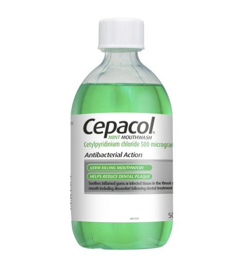 Cepacol Solution Mint 500ml