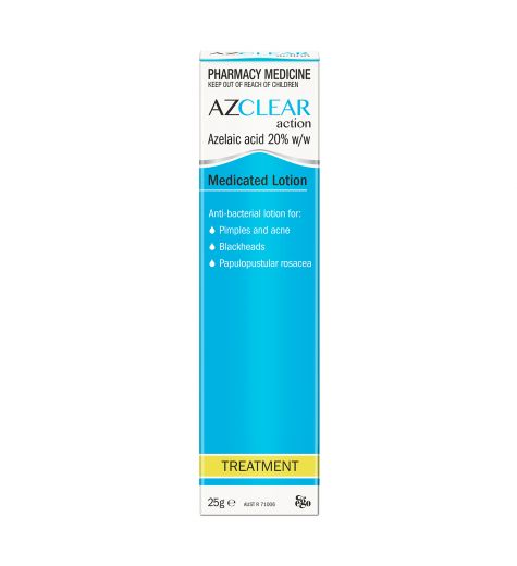 Ego Azclear Action Medicated Lotion 25g