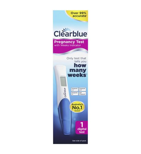 ClearBlue Digital Pregnancy 1 Test - With Conception Indicator