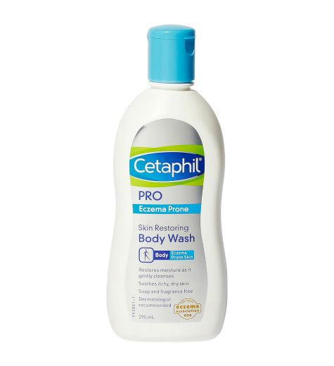 Cetaphil Pro Eczema Prone Skin Restoring Body Wash 295mL