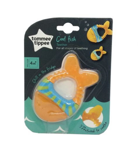 Tommee Tippee Cool Fish Teether 3 Months +