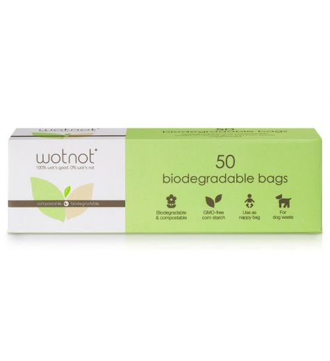 Wotnot 50 Biodegradable Bags