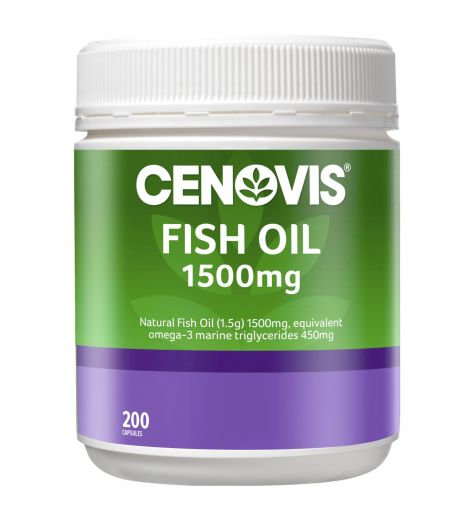 Cenovis Fish Oil 1500mg 200 Capsules