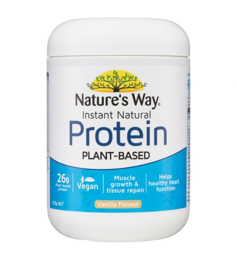 Nature's Way Instant Natural Protein Vanilla Flavour 375g