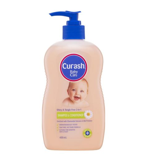 Curash Baby Shampoo & Conditioner 400ml