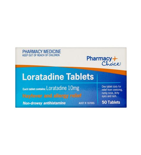 Pharmacy Choice Loratadine Tablets 50 (Same as Claratyne)