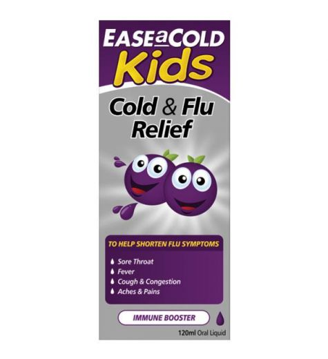 Ease a Cold Cold & Flu Relief Immune Booster 120ml