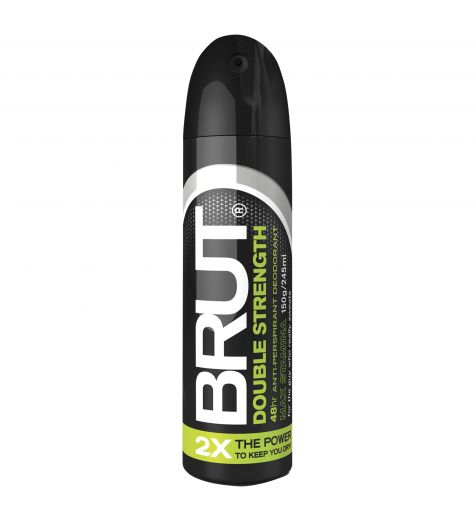 Brut Double Strength 48 Hour Anti-Perspirant Deodorant 150g/245ml