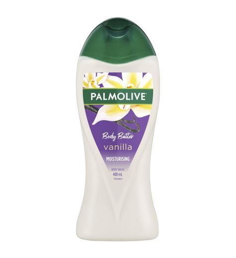 Palmolive Body Butter Body Wash Heavenly Vanilla 400ml