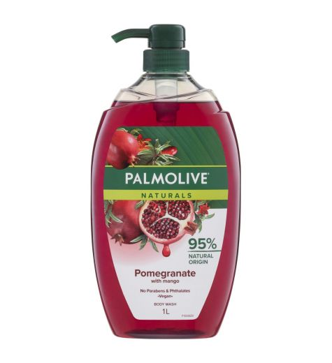 Palmolive Naturals Shower Gel Pomegranate & Mango 1 Litre