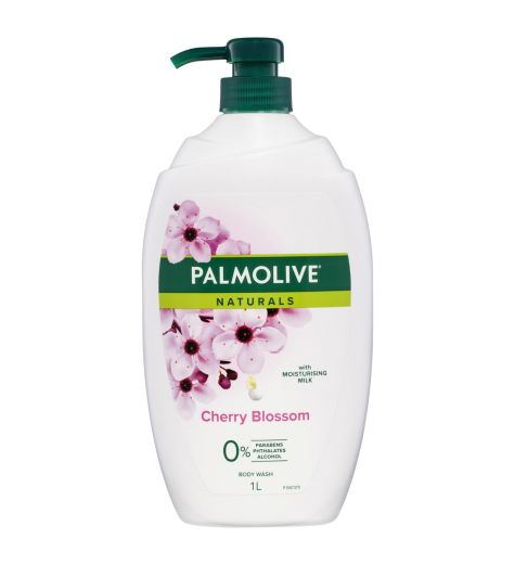 Palmolive Naturals Shower Gel Cherry Blossom 1 Litre