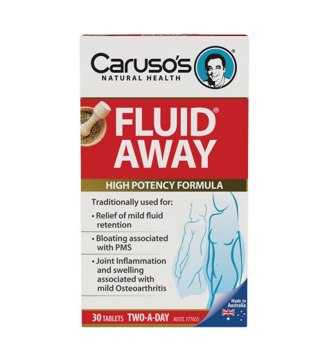 Caruso's Natural Health Fluid Away 30 Tablets
