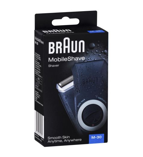 Braun Men's Mobile Shaver (M-30)