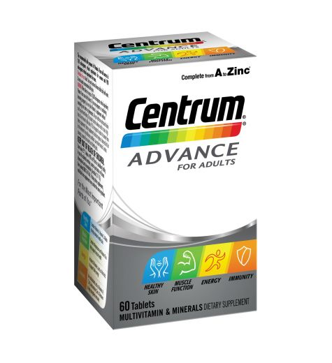 Centrum Advance For Adults 60 Tablets