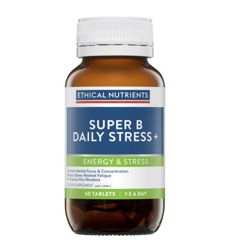 Ethical Nutrients Super B Daily Stress Plus 60 Tablets
