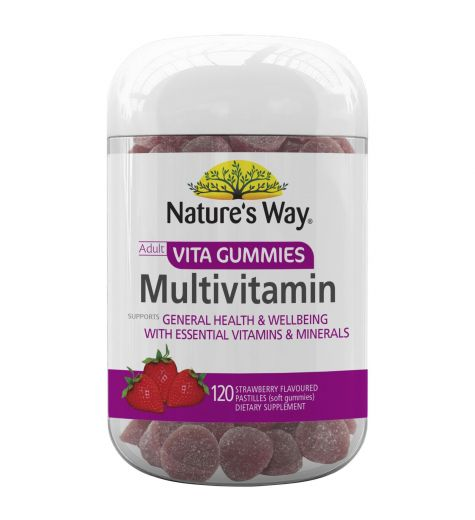 Natures Way Multi-Vitamin Vita Gummies For Adults 120