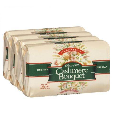 Cashmere Bouquet Classic Bar Soap 4 x 100g