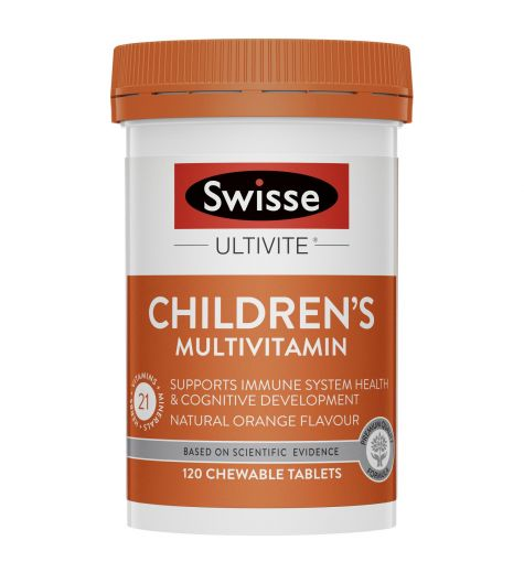Swisse Children's Ultivite 120 Chewable Tablets