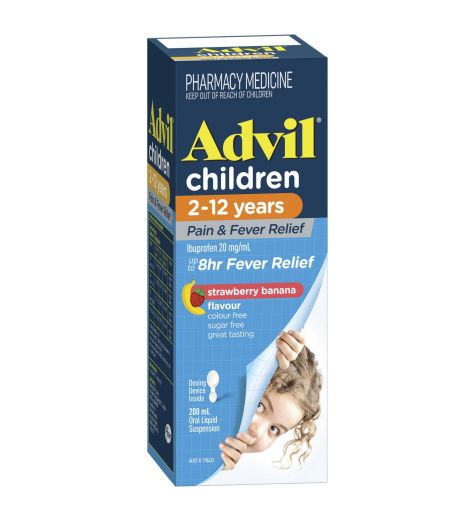 Advil Childrens 2-12 years 200mL