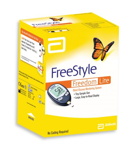Abott FreeStyle Freedom Lite Blood Glucose Monitoring System