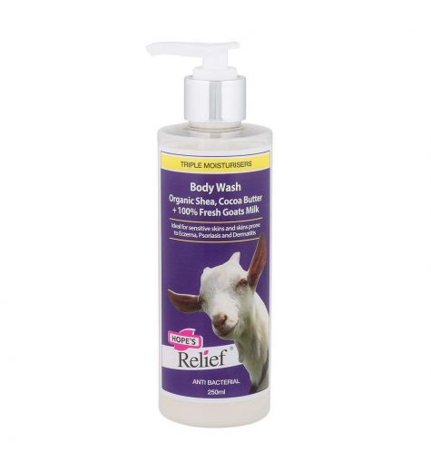 Hopes Relief Goatsmilk Body Wash 250ml