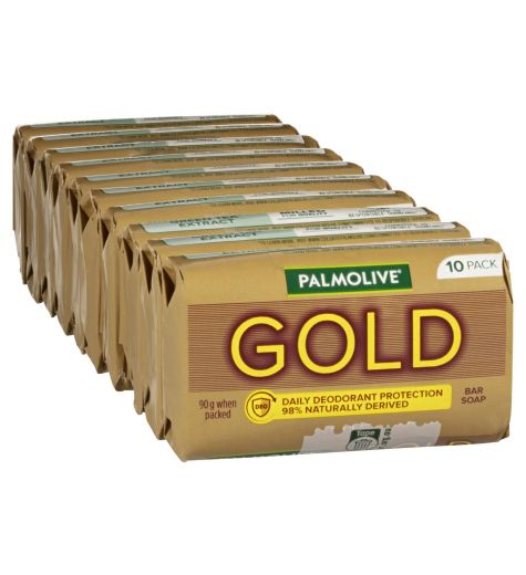 Palmolive Gold Bar Soap 10 Pack