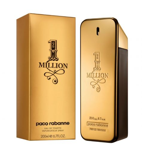 1 Million EDT 200ml by Paco Rabanne (Mens)