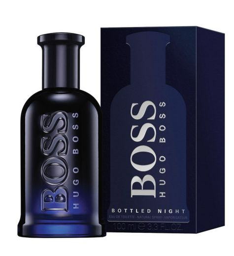 Hugo Boss Bottled Night 100ml EDT By Hugo Boss (Mens)