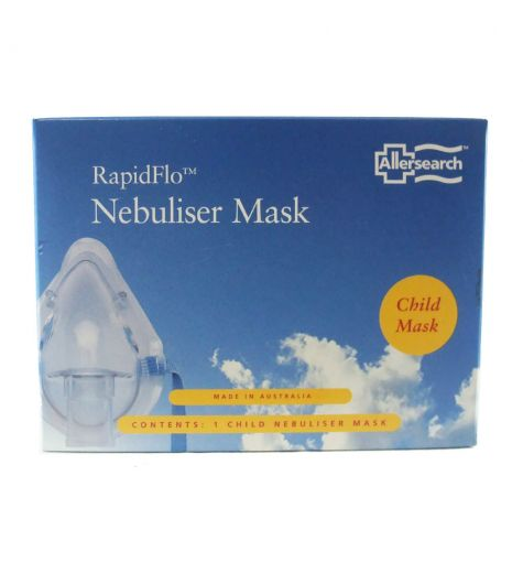 Allersearch Rapidflo Nebuliser Child Mask