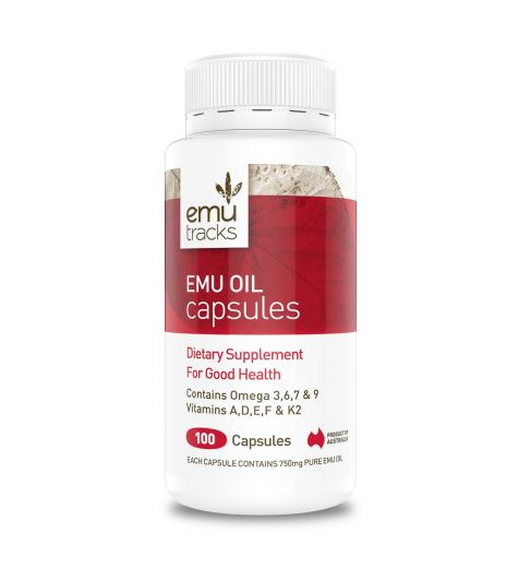 Emu Tracks Emu Oil 100 Capsules