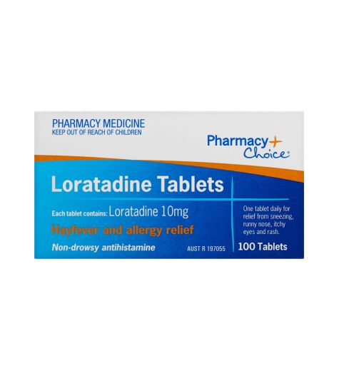 Pharmacy Choice Loratadine Tablets 100 (Same as Claratyne)