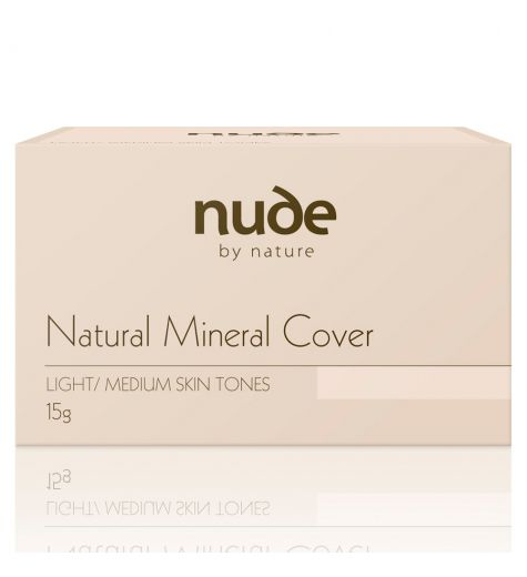 Nude By Nature Natural Mineral Cover Light / Medium Skin Tones 15g