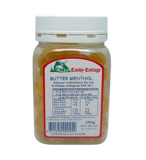 Candy Cottage Butter Menthol 250g