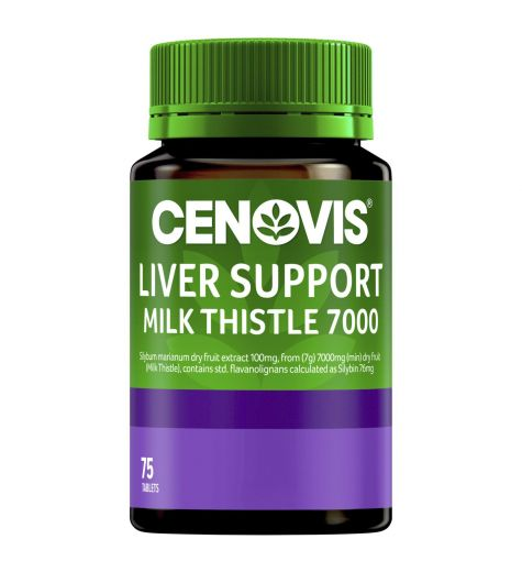 Cenovis Liver Support Milk Thistle 7000 Tablets 75