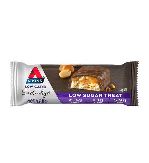 Atkins Endulge Caramel Nut Chew Bar 34g