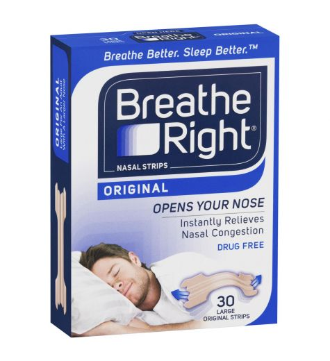 Breathe Right Nasal Strips Large 30