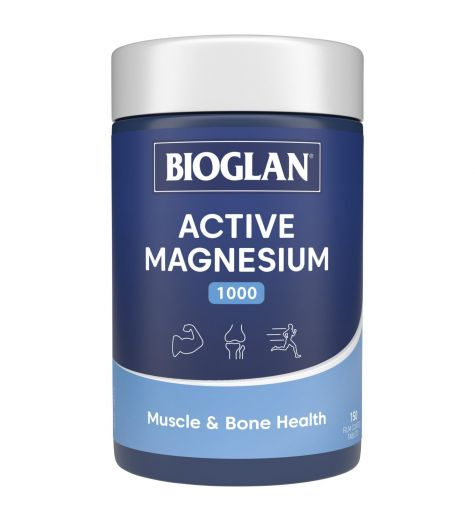 Bioglan Active Magnesium 150 Tablets